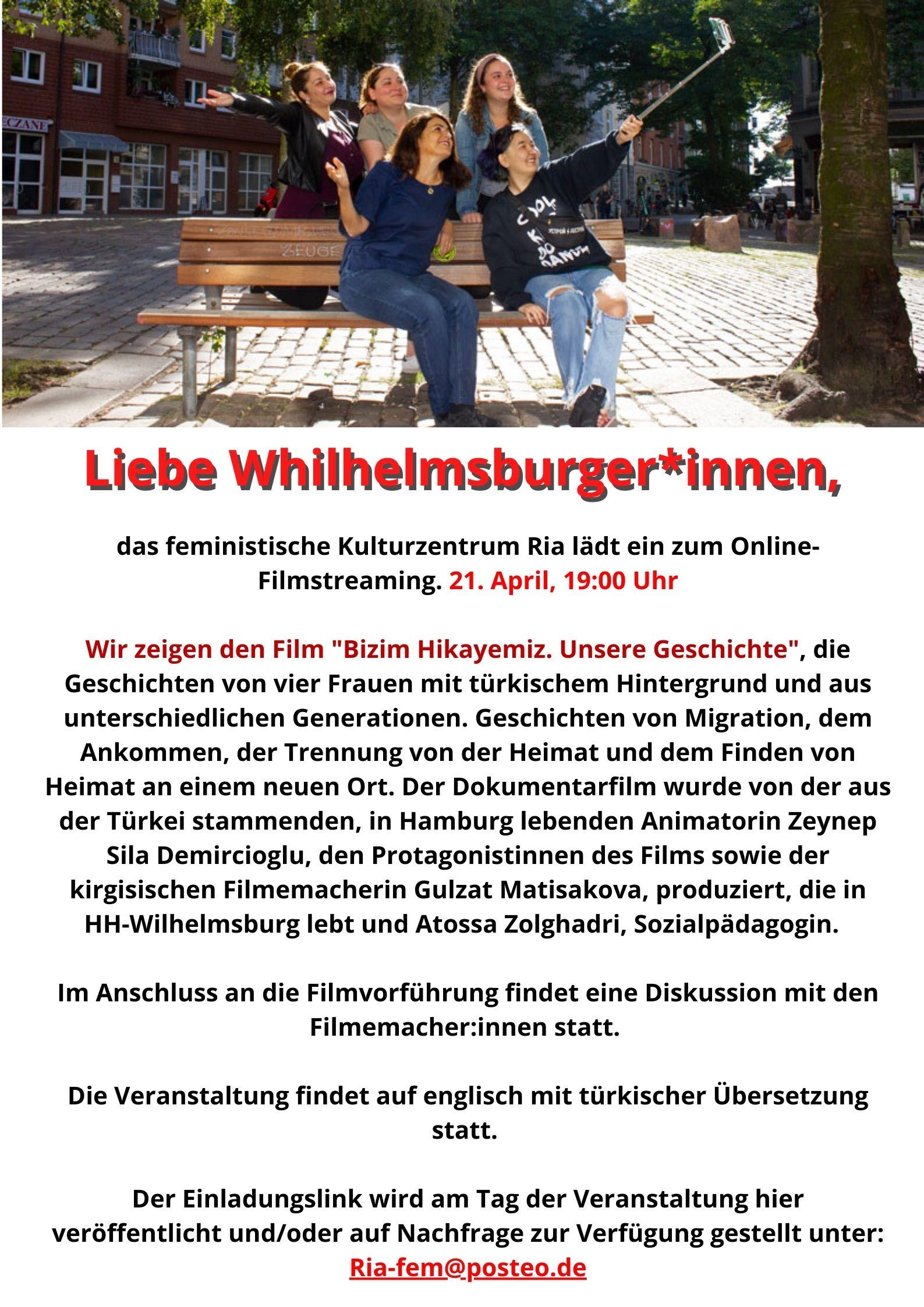 Flyer Filmstreaming dt