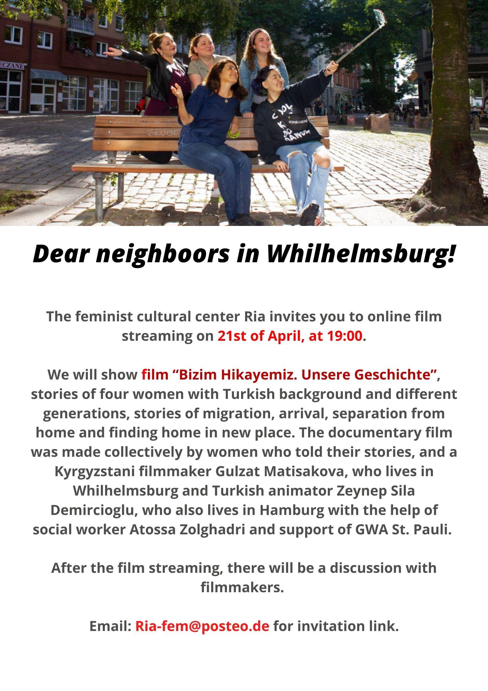 Flyer Filmstreaming